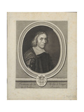 Portrait of François De La Mothe Le Vayer (1588-167), Ca. 1695 Giclee Print by Jacques Lubin