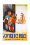 Mother's Day, Sunday 30th May 1943, 1943 Giclee Print