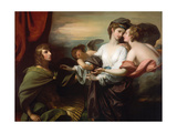 Helen Brought to Paris, 1776 Giclee Print by Benjamin West