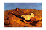 Boy at the Spring (The Sprin), 1923 Giclee Print by Albin Egger-lienz