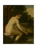Susanna at Her Bath, 1813 Giclee Print by Alexei Yegorovich Yegorov