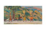 The Sabine Hills, 1909-1912 Giclee Print by Nikolai Pavlovich Ulyanov