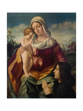 Virgin and Child with a Donor, 1504 Giclee Print by Andrea Previtali