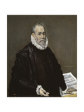 Portrait of a Physician, 1582-1585 Giclee Print by  El Greco