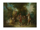 The Four Ages of Man: Maturity, Ca 1735 Giclee Print by Nicolas Lancret
