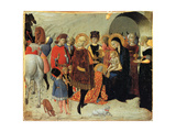 The Adoration of the Magi, Ca 1435 Giclée-tryk af Sassetta,