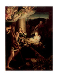 The Holy Night, 1527-1530 Giclee Print by  Correggio