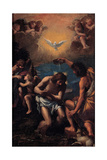 The Baptism of Christ, 1585-1590 Giclee Print by Ippolito Scarsellino