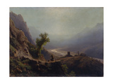 In the Caucasus Mountains, 1879 Giclee Print by Lev Felixovich Lagorio