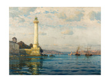 Ahirkapi Feneri Lighthouse, Early 20th Century Giclee Print by Michael Zeno Diemer
