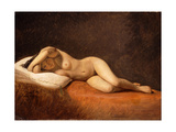 Resting Model, 1839 Giclee Print by Constantin Hansen