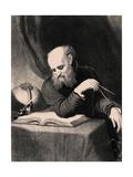 Galileo Galilei, 1852 Giclee Print