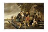 The Merry Homecoming, 1679 Giclee Print by Jan Havicksz Steen