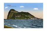 The Rock of Gibraltar, 1945 Giclee Print