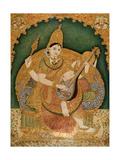 Saraswati Giclee Print by Chitragara Krishnappa