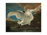 The Threatened Swan, before 1652 Giclee Print by Jan Asselijn