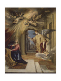 The Annunciation, 1570-1572 Giclee Print by  El Greco