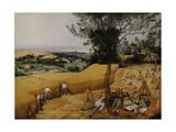 Pieter Bruegel the Elder - The Harvesters, 1565 - Giclee Baskı