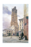 St Jacques Tower, 1834 Giclee Print by Thomas Shotter Boys