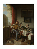 The Lute Player, 1661 Giclee Print