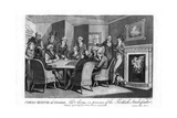 Chess Match, at Parsloe'S, Febuary 23Rd, 1794, in the Presence of the Turkish Ambassador, 1794 Giclee Print by  Cook