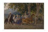 Ride, 1849 Giclee Print by Karl Pavlovich Briullov