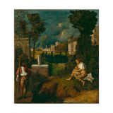 The Tempest, C.1508 Giclee Print by  Giorgione