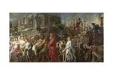 A Roman Triumph, C.1630 Giclee Print by Pieter Paul Rubens