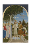The Baptism of Christ, 1450S Giclee Print by  Piero della Francesca