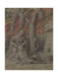 Samson and Delilah, C. 1500 Giclee Print by Andrea Mantegna