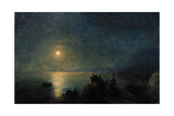 Ancient Greek Poets by the Water's Edge in the Moonlight, 1886 Giclee Print by Ivan Konstantinovich Aivazovsky