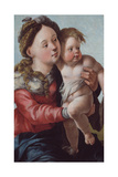 Madonna and Child, 1527-1530 Giclee Print by Jan van Scorel