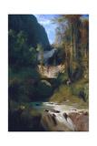 Gorge Near Amalfi, 1831 Giclee Print by Carl Blechen