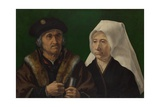 An Elderly Couple, C. 1520 Giclee Print by Jan Gossaert