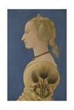 Portrait of a Lady, Ca 1465 Giclée-tryk af Alesso Baldovinetti