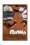 Monaco: Exposition De Canots Automobiles, 1900 Giclee Print by Adolfo Hohenstein