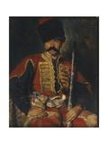 A Zaporozhian Cossack, 1884 Giclee Print by Konstantin Yegorovich Makovsky