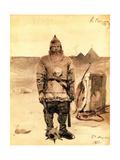 Ilya Muromets, 1893 Giclee Print by Andrei Petrovich Ryabushkin