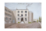 View of King's Bench Prison in St George's Fields, Southwark, London, C1820 Giclee Print by  Smith