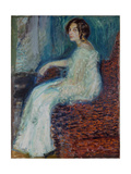 Portrait of Henryka Cohn, 1908 Giclee Print by Richard Gerstl