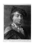 Carlo Goldoni (1707-179), Mid of the 18th C Giclee Print by Gian Battista Piazzetta