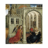 The Annunciation, 1418-1419 Giclee Print by Robert Campin