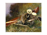 An Out-Of-Doors Study, 1889 Giclee Print by John Singer Sargent