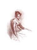 Study, 1901 Giclee Print by Gabriel Nicolet