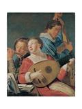Musicians, C.1623 Giclee Print