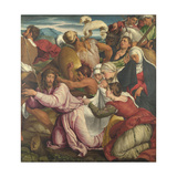 The Way to Calvary, Ca 1545 Giclee Print by Jacopo Bassano