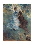 Lovers (Idyl), 1875 Giclee Print by Pierre-Auguste Renoir