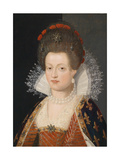 Portrait of Marie De Médici (1575-164), 1605 Giclee Print by Frans Francken the Younger