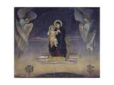 The Virgin, 1901 Giclee Print by Viktor Mikhaylovich Vasnetsov
