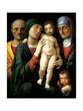 The Holy Family, C. 1495 Giclee Print by Andrea Mantegna